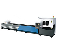 Metal Tube Fiber Laser Cutter 0