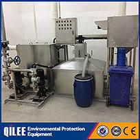Cavitation air flotation oil gas water separator