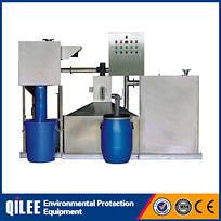 Waste excavator oil water separator machine